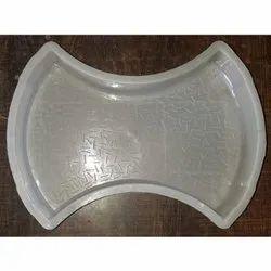 Silicone Plastic Damru Paver Block Mould