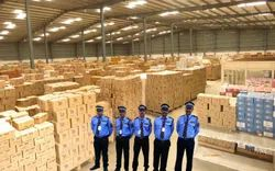 Corporate Male Warehousing Security Services