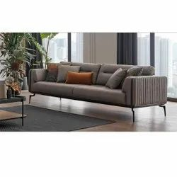 2 Seater Metal Sofa Set