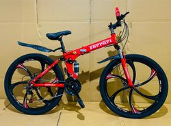 RED FERRARI FOLDABLE CYCLE