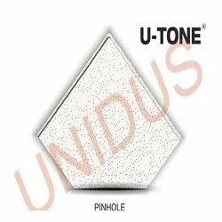 Pinhole 12mm square Acoustic Mineral Fiber Ceiling Tiles