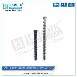 5.5mm Locking Cancellous Screw (Full Thread)