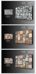 osis+ Rustic Digital Ceramic Wall Tiles, Thickness: 5-10 mm
