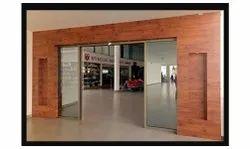 Steel Auto Ingress Automatic Sensor Glass Door