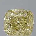 Cushion 1.50ct Fancy Yellow SI2 GIA Certified Natural Diamond