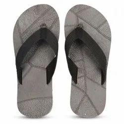 Grey Men Daily Wear Stylish Slippers
