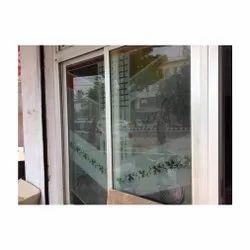 Transparent Rectangle Decorative Window Glass