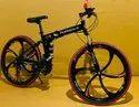 Black Porsche Foldable Cycle