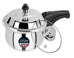 LINVILA Silver Pressure Cooker 1.5 L, For Home