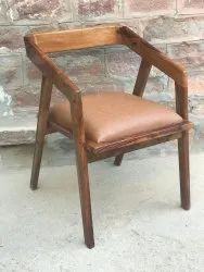Raja Arts 04 Classic Solid Wood Dining Chair, For And Restaurant, Size: Standard