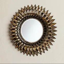 Brass Traditional Mirror