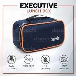 Daacchi Orange,Green Zipper Pouch Lunch Box Set, 2 Container
