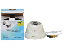 Softelic Technology Day & Night Vision CCTV AHD 5MP Dome Camera, For Indoor Use