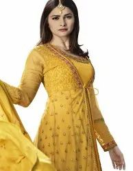 Designer Heavy Embroidered Gown