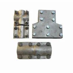 Aluminium Silver Aluminum Clamp Connector