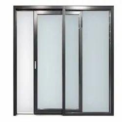 Modern Black (Frame) ASW-002 Aluminum Sliding Window
