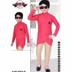 OSR Party Wear Boys Designer Kurta Pyjama Set