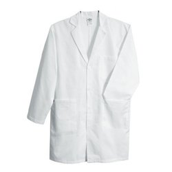 Om Fabrics Full Sleeve White Medical Apron
