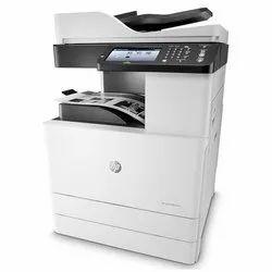 Black & White HP Laserjet Managed MFP M72625dn Multifunction Printer