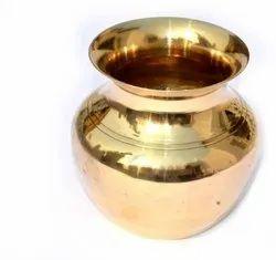 Gold Original Brass Lota, Size: 4.5 Inch, Capacity: 750