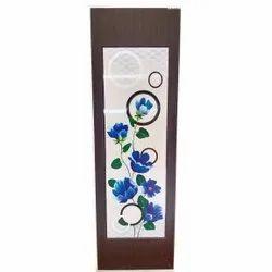 Designer PVC Bathroom Door, Design/Pattern: Floral Print