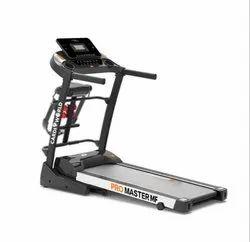 4 Hp Cardioworld Promaster Multi Motorized Treadmill For Home, 110 Kg