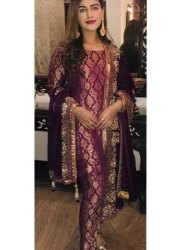 58-60 Plain Ladies Silk Fabric, GSM: 150-200