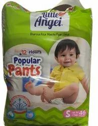 Cotton Little Angel Baby Diapers Pant, Size: Small