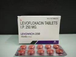 Levofloxacin Tablets IP 250 mg