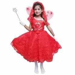 Red Girl Designer Kids Gown