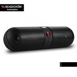 Expode Innovations Black F Pill Bluetooth Speaker
