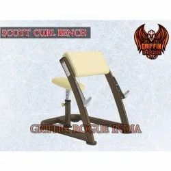 Griffin Rogue Olympic Preacher Curl Bench For Gym & Home, 50 Kg Approx
