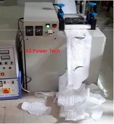 Semi Automatic Sanitary Napkin Machine