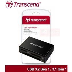 TRANSCEND TS-RDF8K2 USB 3.1 Multi Card Reader