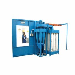 Three Phase Powder Coating Booth, Fully Undershot Type, Automation Grade: Automatic
