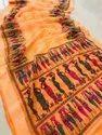 Present New Linen Cotton Good Looking Saree