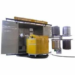 30 HP Cylindrical Water Tank Rotomoulding Machine