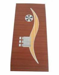 Indoor Rectangle Wooden Laminated Doors, For Home