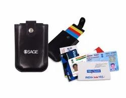 Leather Business Visiting Card Pouch