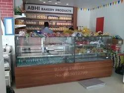 Bakery & Sweets Display Counter