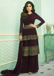 Semi Stitched Party Wear Dresses