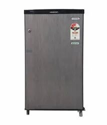 Videocon VC091PSH 80 L Direct Cool Refrigerator, 28 Kg, Silver Hairline