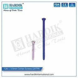 3.5mm Cortex Screw (20TPI)