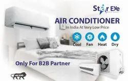 3 Star Split AC OEM Non Brand Air Conditioner, Coil Material: Copper, Capacity: 2 Ton