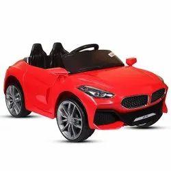 纤维12伏红色宝马Z4 12V电池操作车,蓝牙偏远,容量:1个孩子
