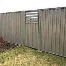 Blue Mild Steel Silt Fence