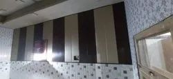 Colour Coated Brown, White 10 MM PVC Wall Panel