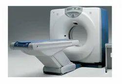 2- Slice System GE Hi-speed CTE Dual Refurbished CT Scan Machine