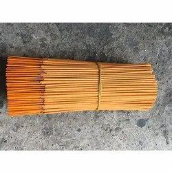 Religious Orange Metallic Raw Incense Sticks