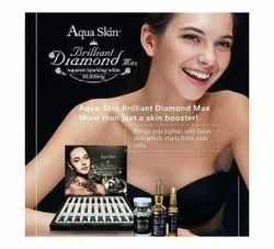 Aqua Skin Brilliant Diamond Max Skin Lightening Injection, Packaging Size: 30 Vial